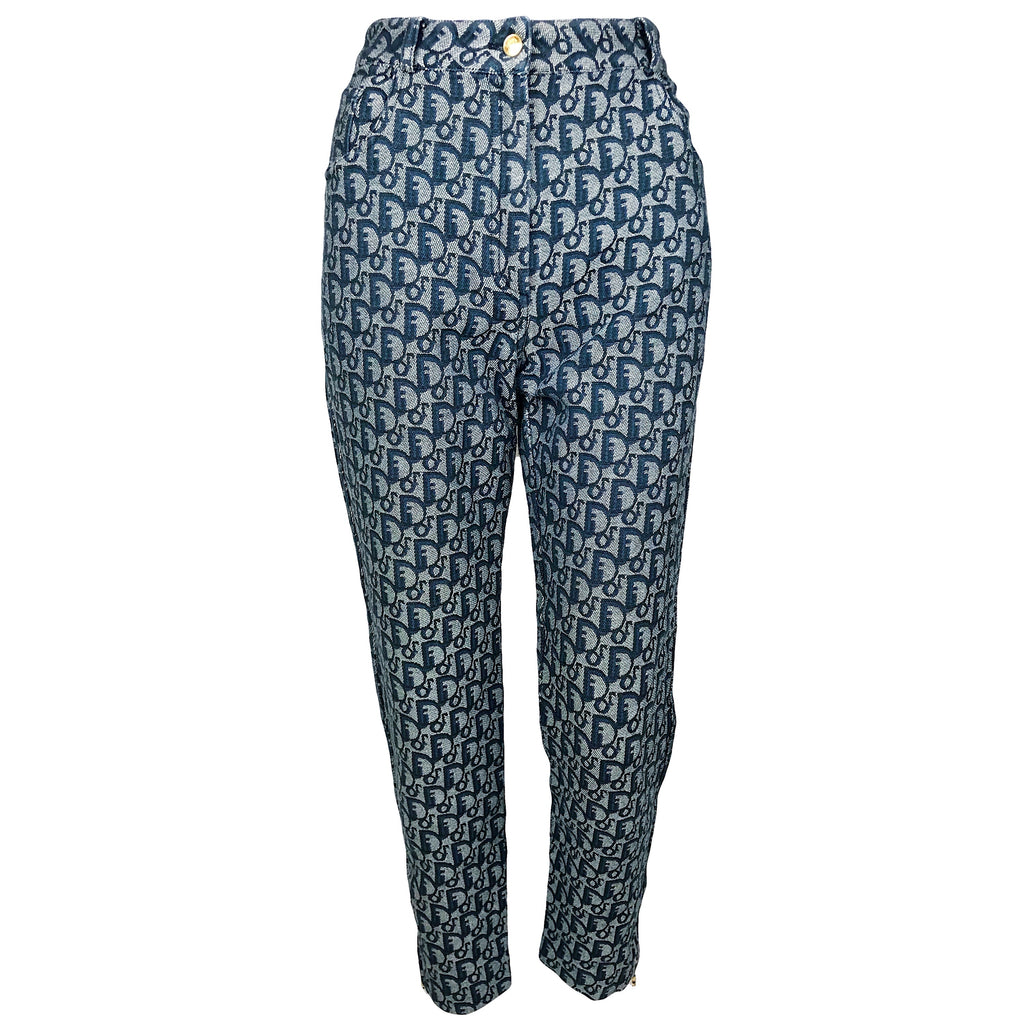 Christian Dior Spring 2000 monogram pants