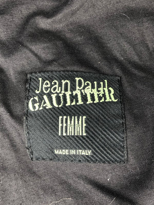 Jean-Paul Gaultier cutout suit