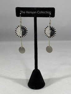 Earrings in Shades of Grey