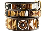 "Load image into Gallery viewer, ""Earth"" Beaded Dog Collar"