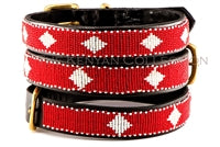 "Load image into Gallery viewer, ""Unity"" Beaded Dog Collar"