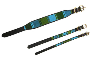 """Lagoon"" Beaded Dog Collar"