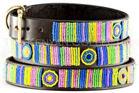 "Load image into Gallery viewer, ""Meadow"" Beaded Dog Collar"