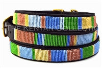 "Load image into Gallery viewer, ""Pastels"" Beaded Dog Collar"