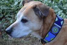"Load image into Gallery viewer, ""Passion Flower"" Beaded Dog Collar"