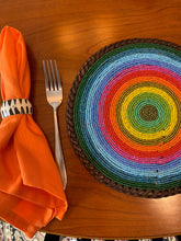 Load image into Gallery viewer, Beaded Placemats by The Kenyan Collection