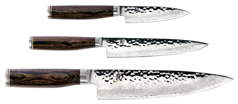 Shun Premier 3 Piece Knife Set