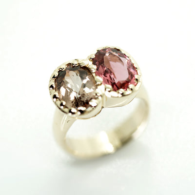 Double Tourmaline Ring