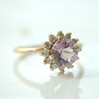 Flower Ametrine Ring