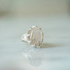 Rose Quartz Castle ring