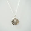 Memento Mori Necklace silver