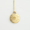 Tabula Rasa Gold Necklace