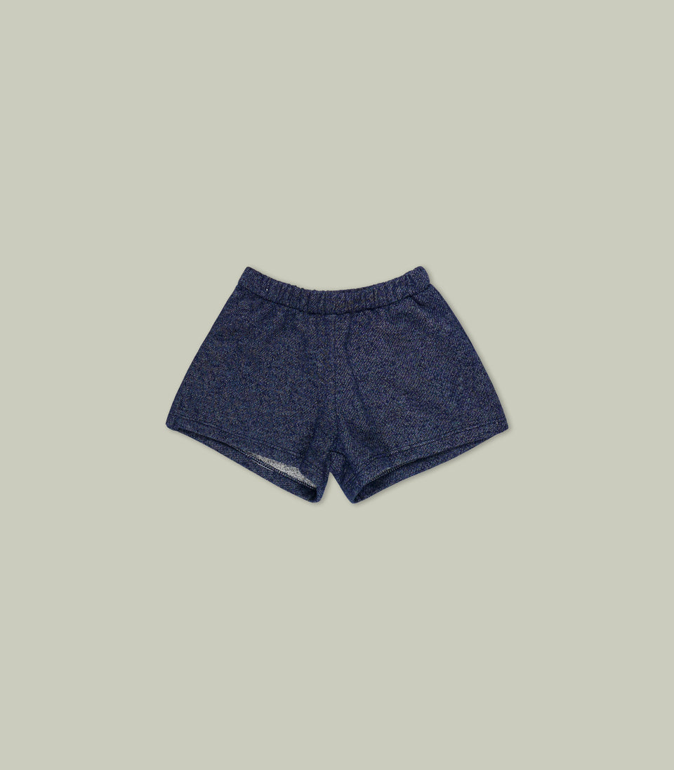 Terry Shorts, Navy, Shorts - bbobbo