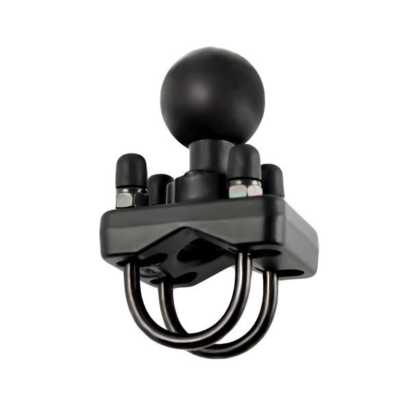"RAM Double U Bolt Base with 1.5"" Ball (RAM-235U) - Image1"