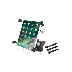 "RAM® X-Grip® with Motorcycle Handlebar Clamp Base for 7""-8"" Tablets (RAM-B-367-UN8U)"