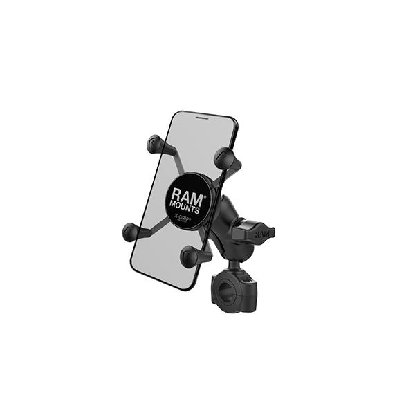 RAM® X-Grip® Phone Mount with RAM® Torque™ Medium Rail Base (RAM-B-408-75-1-A-UN7U)
