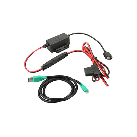 GDS® Modular Hardwire Charger with Type C Cable (RAM-GDS-CHARGE-V7-USBCU)-Image-1
