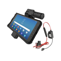 RAM® Powered Samsung Galaxy Tab Active2 Vehicle Cradle with Combination Lock (RAM-HOL-SAM7PCL-HARU)