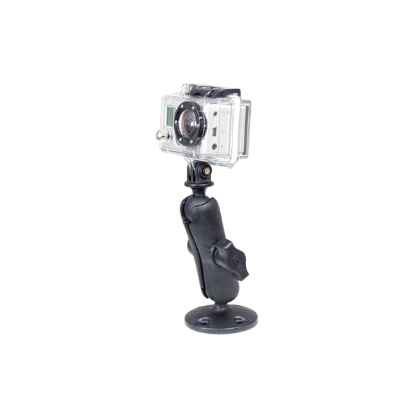 RAM® Composite Drill-Down Mount with Universal Action Camera Adapter (RAP-B-138-GOP1)-Image-1