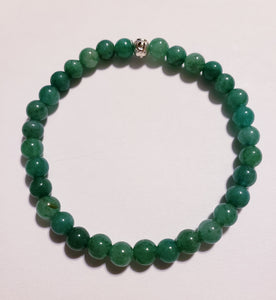 Green Fire Agate Bracelet
