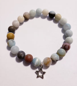 Amazonite Bracelet With Star