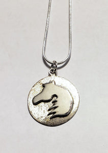 Horse Head Sterling Silver