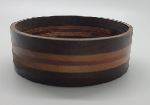 Striped wood bracelet