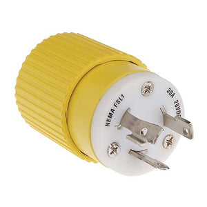 Hubbell 30 AMP Male Twist Lock Electrical Plug