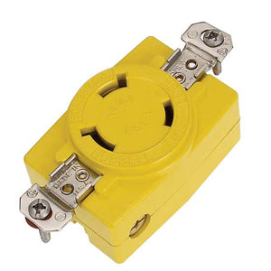 Hubbell 30 AMP Single Electrical Receptacle