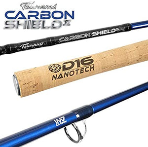 CARBON SHEILD II BLUE SPINNING RODS