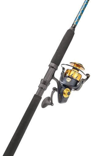 Penn SSVI7500 Capt. Harry's CS20/25 Spin Rod & Reel Combo