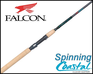 Falcon Coastal Clear Water Spinning Rods