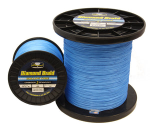 600yds Blue hollow Core Diamond Braid Line