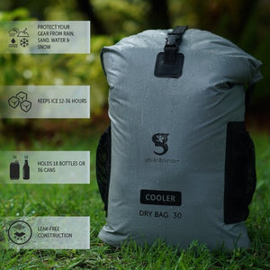 Gecko Backpack Dry Bag Cooler