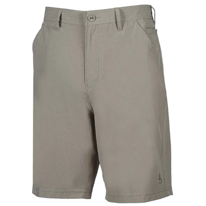Hook & Tackle Hi-Tide 4-way Stretch Shorts Khaki