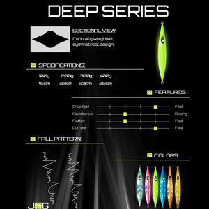 JYG 200G Deep Slow Pitch Jig