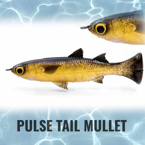 Savage Gear Pulse Tail Mullet Lure 5in