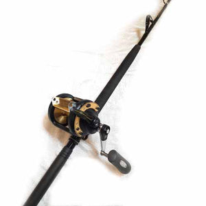 Shimano TLD50 Capt. Harry's CHSU 5058 WRST Conventional Combo