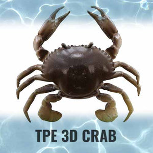 Savage Gear TPE 3D Crab Soft Bait Lure 3""
