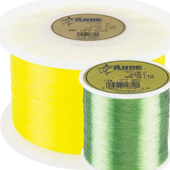 Ande 3lb Spool Tournament Monofilament Line