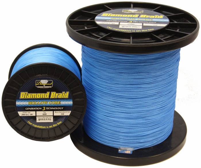8X Generation 3 Diamond Braid 3000YDS Blue