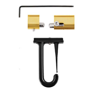 Dubro Gold/Black 1090GB Tournament Rod Holder