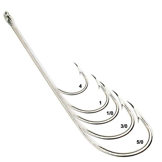 Eagle Claw 066A Lazer Sharp 2X-Long Sea Guard Hook Value Pack