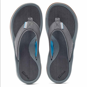 Grundens Deck-Boss Sandal Monument Grey
