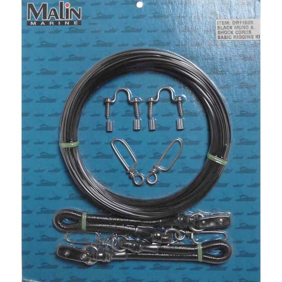 Malin Black Mono Complete Outrigger Kit