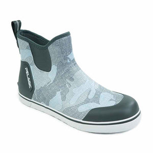 "Pelagic Fish Camo light Gray Pursuit 6"" Deck Boot"