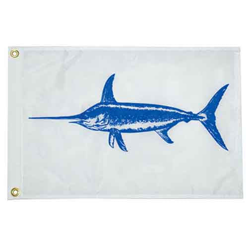 Swordfish Outrigger Flag