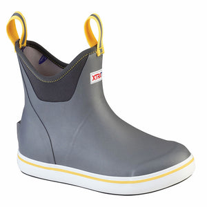 Xtratuf 6.5in Gray Ankle Deck Boot