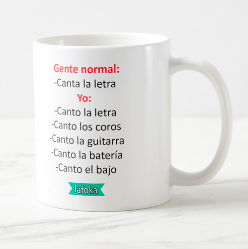 Meme Taza: Gente normal vs yo
