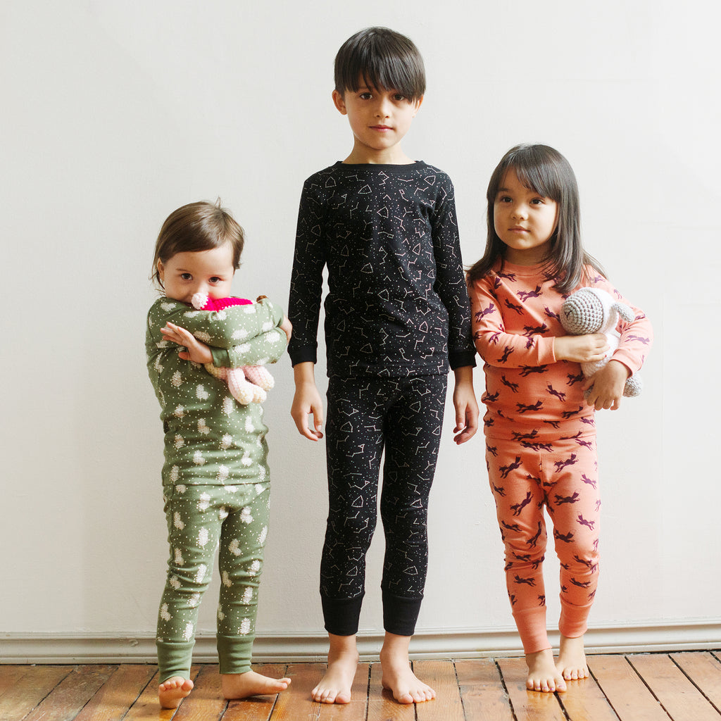 Organic cotton kids pajamas
